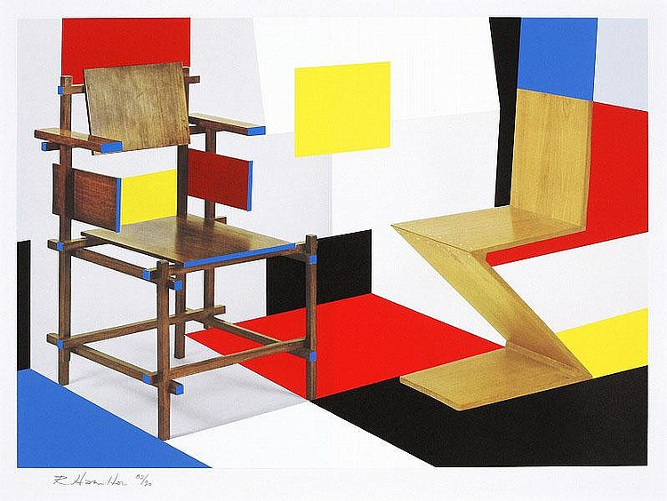 Richard Hamilton, Putting on De Stijl(Lullin 111)