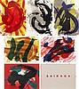 Kazuo Shiraga, Eitoku/ Enshu/ Chikamatsu/ Buson/ Kokan/ Kuniyoshi, from 'Kazuo Shiraga Lithographies 1990', Kazuo Shiraga, ¥0