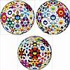 Takashi Murakami, Flower Ball (3-D) Autumn 2004/ Flower Ball (Lots of Colors)/ Flower Ball (3-D) Sequoia sempervirens