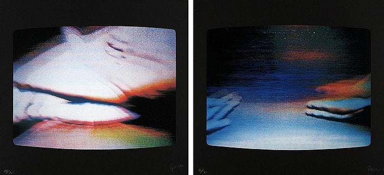 Nam June Paik, Untitled No.1/No.5 (set of 2)