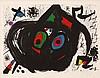 Joan Miro, Pl.9 from Homenatge a Joan Prats  (Maeght 713/ Cramer Books 153)
