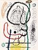 Joan Miro, Pl.5 from 'Album 21'  (Maeght 1130/ Cramer Books 241)