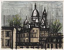Bernard Buffet, Le Sacre-Coeur, from 'Album Paris'  (Sorlier 38)