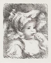Pierre-Auguste Renoir, L'enfant au biscuit (Delteil; Stella 31/ Roger-Marx 6)