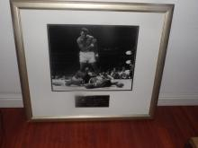 Autographed Ali vs Liston Picture