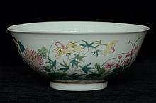 $1 Chinese Porcelain Bowl 20th C