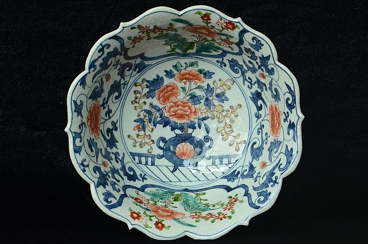 $1 Large Chinese Porcelain Bowl