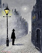 Reg Mummery (British, 20th Century)- 'Street Scene