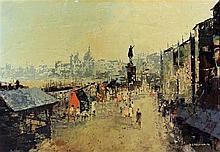 David Stefan Przepiora (British, b.1944) - 'Street