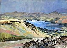 John Sibson (b.1942) - 'Derwent Water from Maidens