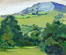 Isobel Barber FRSA (British, 1914-2001) - 'Derbysh