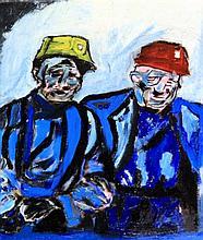 John Hennessey (British, 20th Century)- 'Two Miner