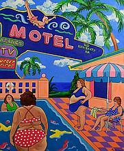 Janet Maud Rotenberg (Canadian, 1956-2007) 'Motel