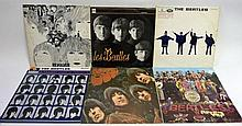 Nineteen LPs by The Beatles Includes 'Les Beatles'