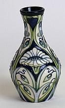A modern Moorcroft pottery vase of baluster form D