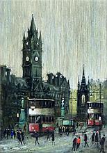 Arthur Delaney (British, 1927-1987) - 'The Town Ha