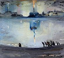 William Turner FRSA (British, 1920-2013) - 'Oil Es