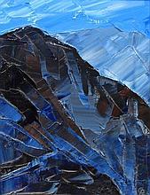 Gwyn Roberts (Welsh, b.1953) - 'Mountain Range' Th