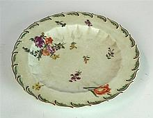 An 18th Century Chelsea soft paste porcelain plate Decorated in the Duke of