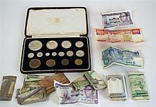 A George VI cased coronation proof set dated 1937 Comprising coins from cro