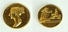 A Queen Victoria Gold Coronation Medal The medal dated June 28th 1838, issu