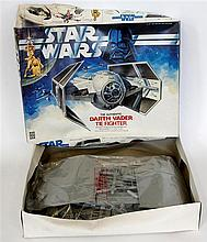 A Denys Fisher boxed Star Wars kit Unmade entitled the authentic Darth Vade