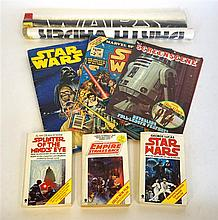 A collection of Star Wars Ephemera Includes 'Star Wars' Scrapbook (product