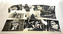 Ten 8''x10'' Star Wars Photograph Stills 2 numbered SWK-41 & SWK-36 all in