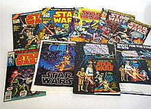 'Star Wars'  Annual no.1 with advert leaflet together with Marvel Official