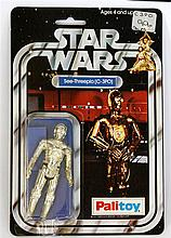 A 1970's Palitoy Star Wars figure in original pack  'C-3PO' in good bubble