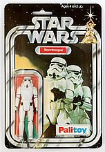 A 1970's Palitoy Star Wars figure in original pack  'Storm Trooper' in good