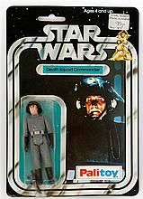 A 1970's Palitoy Star Wars figure in original pack  'Death Squad Commander'