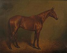 Herbert H. St. John Jones of Nantwich ''Lutteur lll, the winner of the Gran