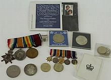 A Queen Elizabeth II Gulf war medal Awarded to Mr P Bamber of BAE, with bar