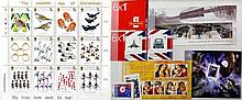Three albums containing stamps For Great Britain, Isle of Man, Jersey and C