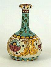 Arts & Crafts Granville Pottery vase Of bulbous form with cylindrical neck,
