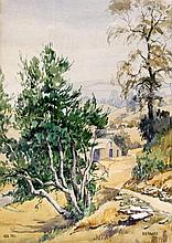 R H Fawkes (British, 20th Century) - 'Leck Fell' Watercolour, signed and da