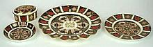 A collection of Royal Crown Derby Imari pattern wares  Pattern no. 1128 to