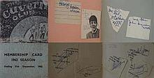 1960s Autograph Book The Beatles and The Rolling Stones This stunning autog