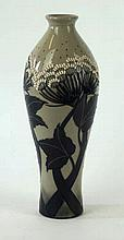 A Moorcroft Pottery vase of inverted baluster form Decorated in the Summer