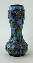 A Moorcroft Pottery limited edition Double Gourd vase Decorated in Ray of H