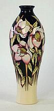 A Moorcroft Pottery limited edition vase of inverted baluster form Decorate