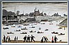 Laurence Stephen Lowry RA (British, 1887-1976) - 'Crime Lake',  Pencil sign, L.S. Lowry, £2,500