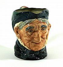Royal Doulton Character Jug - Toothless Granny Printed factory marks to bas