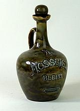 A Doulton Lambeth Art Ware 'The Mossgiel blend' Advertising whisky jug, rel