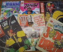 Approx. Five Hundred Comics (Bronze & Modern Age) Predominately Sci-Fi incl