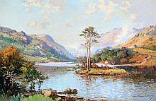 Wyndham Lloyd (British, 1909-1997) - 'Loch Dilt, Moidart, Invernesshire' Oi