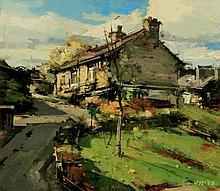 John McCombs NDD ROI RBA FRSA PMAFA (British, b. 1943) - 'House on Woodhous
