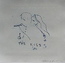 Tracey Emin (British, b.1963) - 'The Kiss' Pencil signed limited edition po