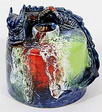 Charles Noke and Harry Nixon for Doulton Chang 'Dragon' vase An incredibly